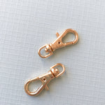 22mm Shiny Gold Swivel Lobster Claw Clasp - Pack of 2
