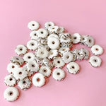 14mm Swirl Bone Rondelle