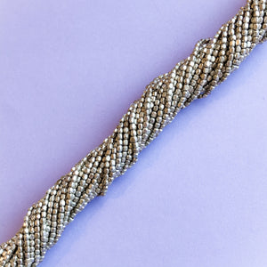 1mm Silver Rounded Rectangle Strand