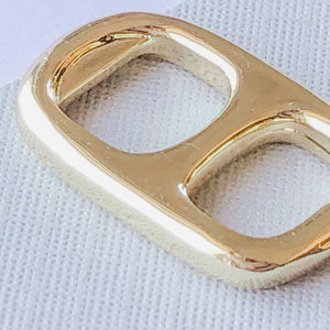23mm Shiny Gold Soda Tab Charm