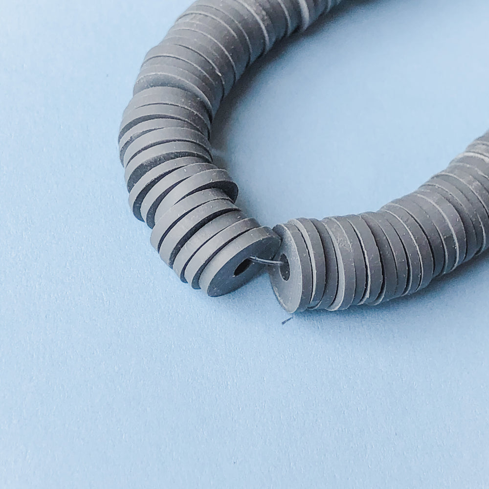 8mm Asphalt Polymer Clay Strand