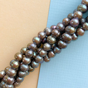 8mm Twinkling Violet Faceted Chinese Crystal Strand - Christine White Style