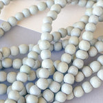 6mm Light Gray Wood Rounds Strand