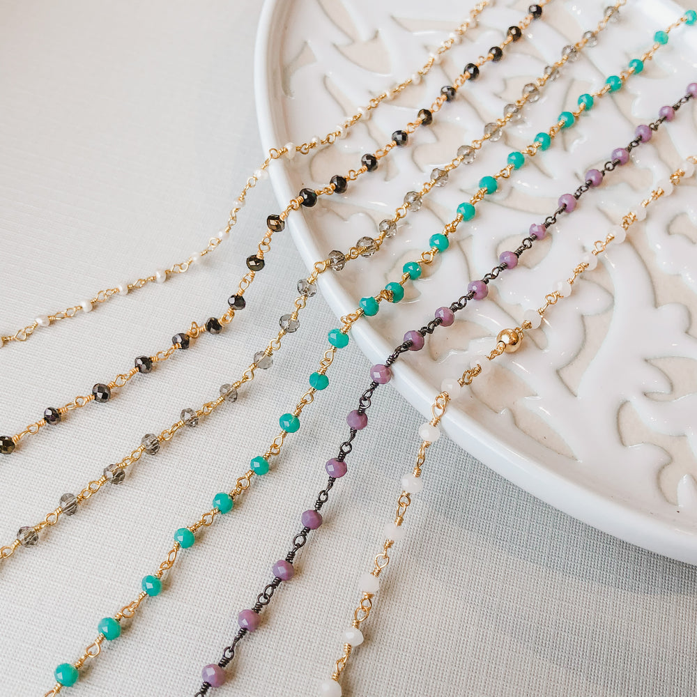 3mm Rosary Chain Varieties
