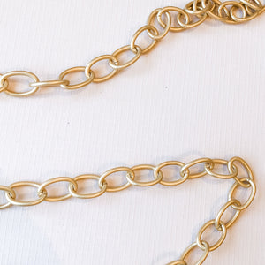 15mm Oval Electroplated Chain