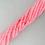 6mm Cotton Candy Polymer Clay Strand