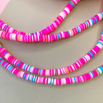 6mm Paradise Crush Polymer Clay Strand