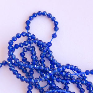 10mm Faceted Dyed Jade Rounds Strand - Assorted Colors - Christine White Style