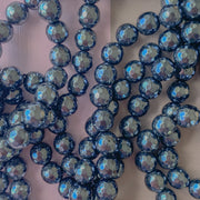 Smooth Silver Hematite Rounds Strand - Varying Sizes - Christine White Style