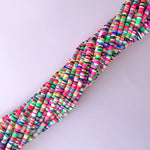 4mm Rainforest Polymer Clay Strand