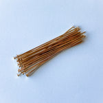 "2"" Shiny Gold 20 Gauge Headpin 115 Pack"