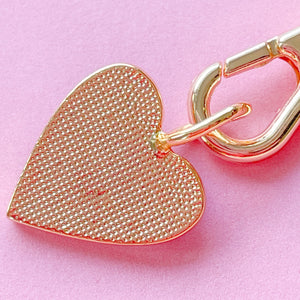 14mm Lavender Enamel Heart Instant Charm Necklace