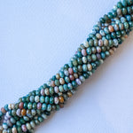 8mm Faceted Ocean Jasper Rondelle Strand