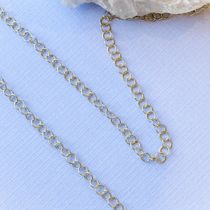 5mm Shiny Gold Round Cable Chain