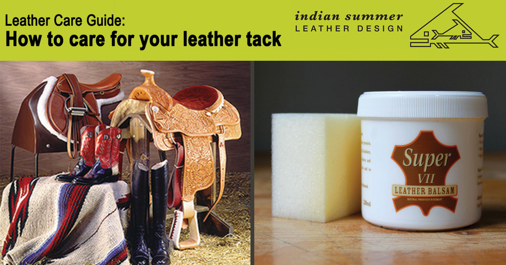 How to care for your leather tack