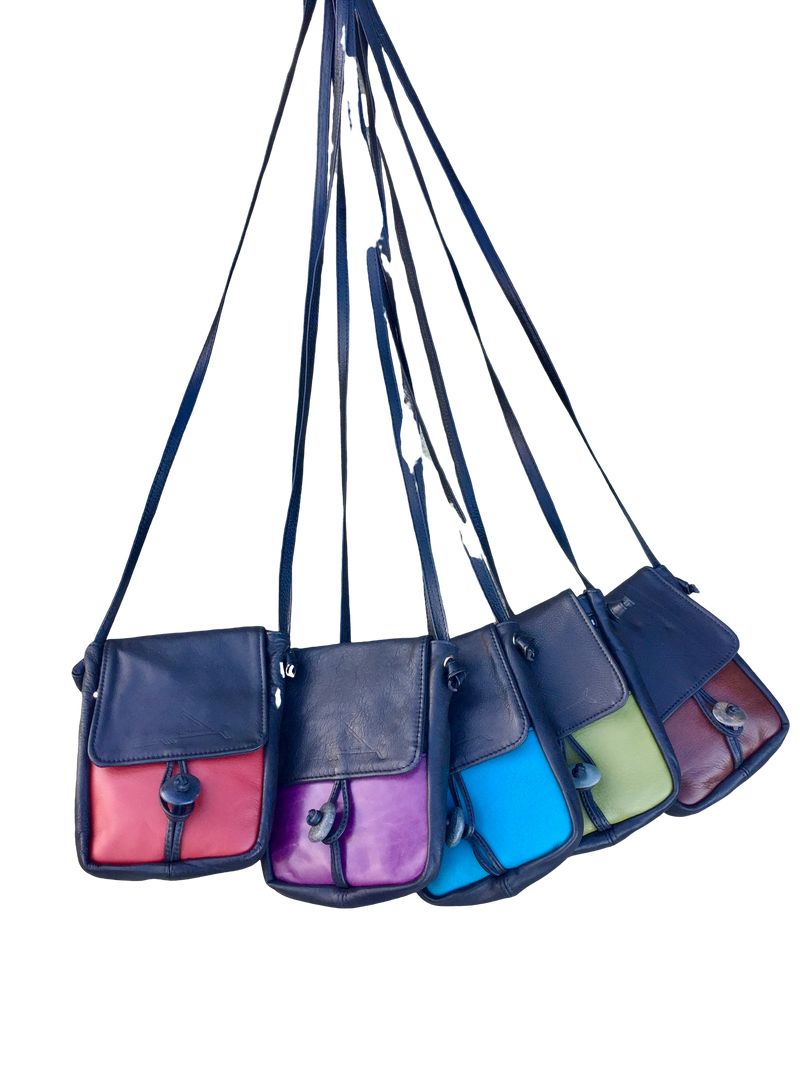 Cell Bag - Indian Summer's designer leather purses