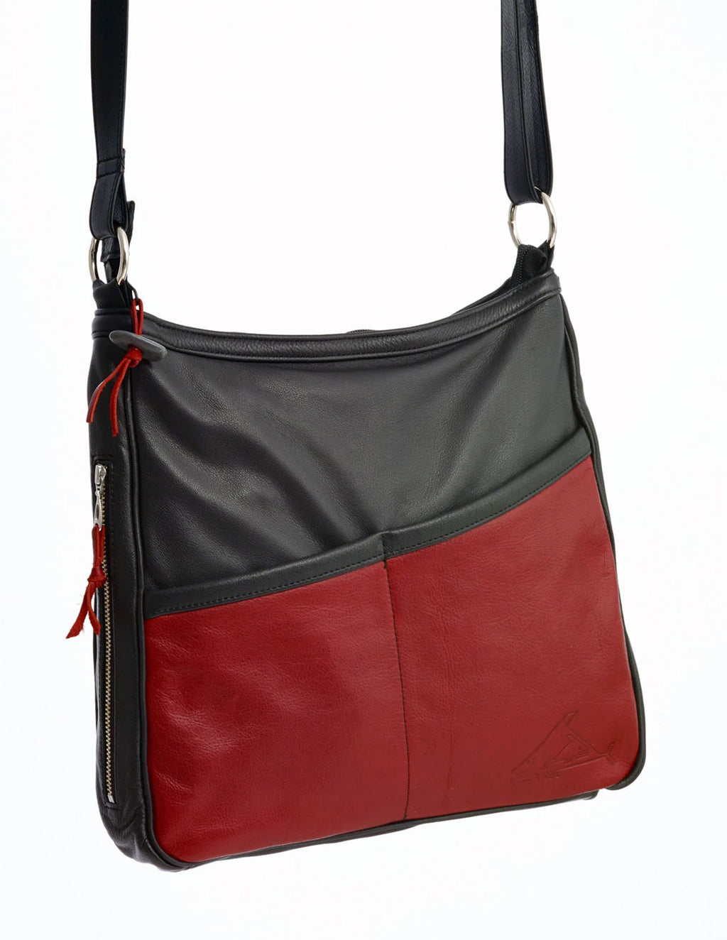 Classic Cross-Body Bag - Indian Summer's designer leather purses