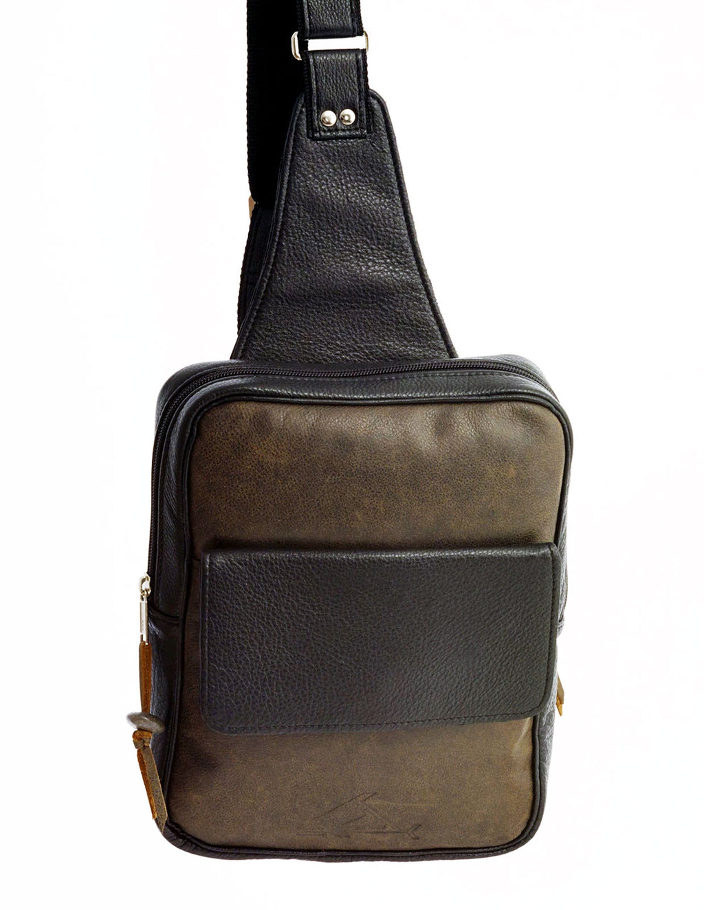 Compact Cross-Body Bag - Indian Summer's designer leather purses