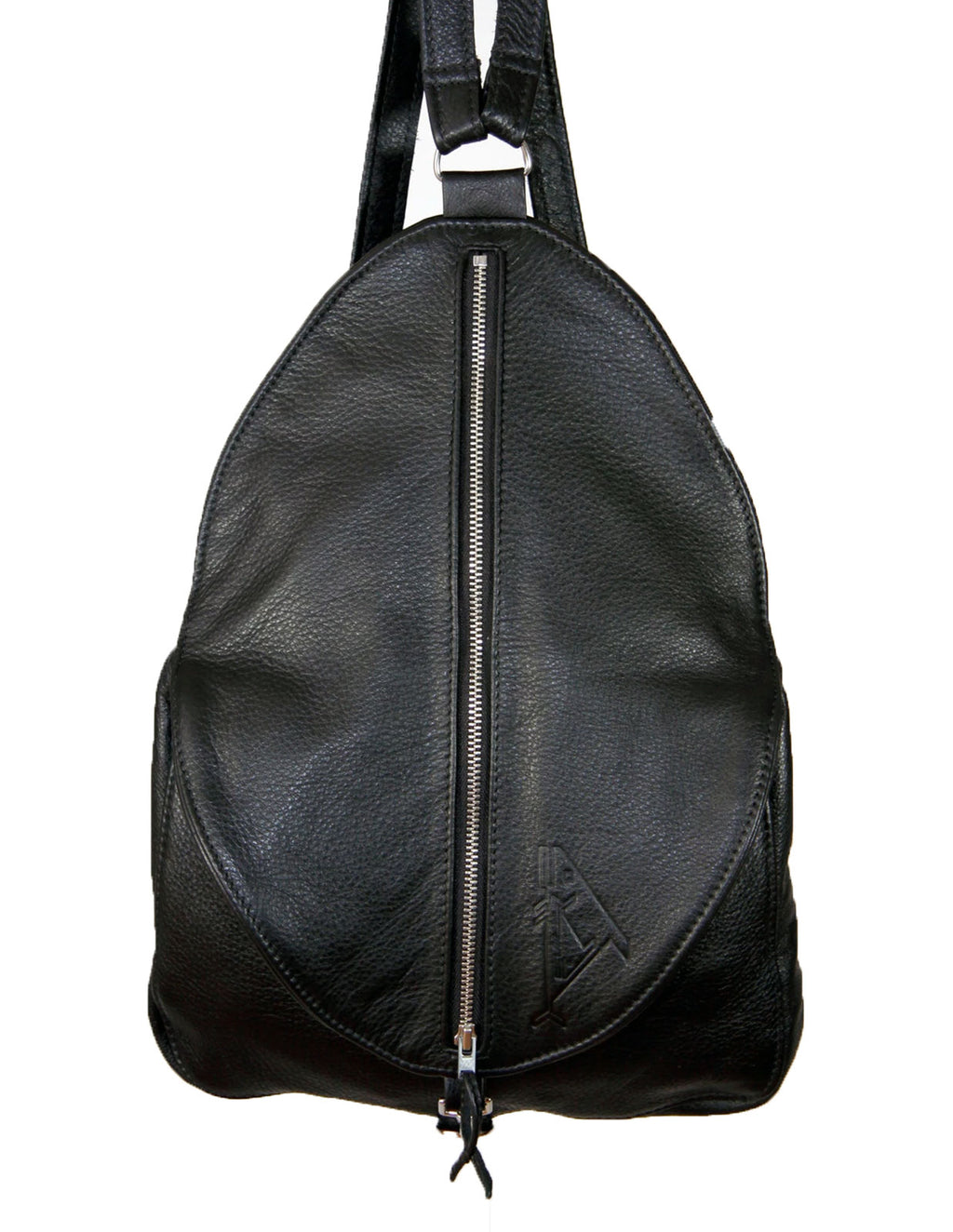 Egg Bag Backpack - Indian Summer's designer leather purses