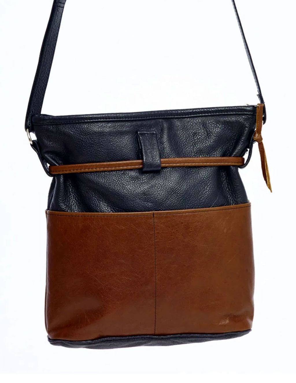 Four-Pocket Purse - Indian Summer's designer leather purses