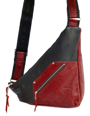 Geometry Bag - Indian Summer's designer leather purses