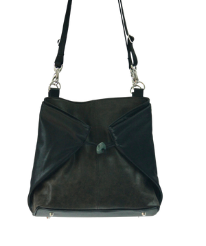 Large Origami Tote bag - Indian Summer's designer leather purses