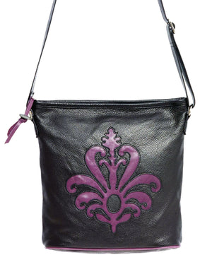Siena Two-Pocket Purse - Indian Summer's designer leather purses