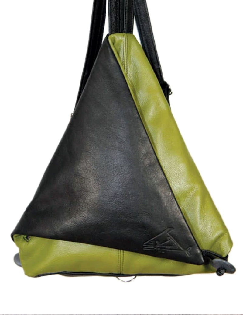 Triangle Fold - Indian Summer's designer leather purses