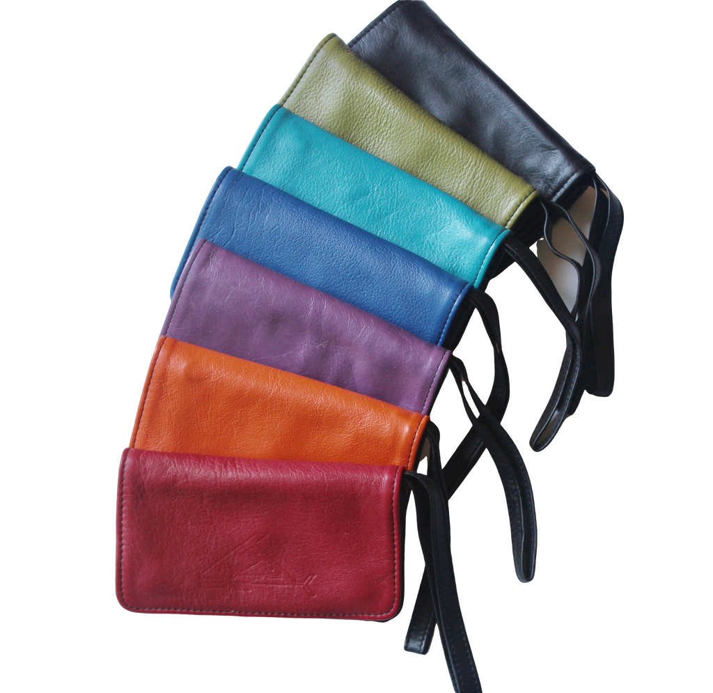Wrist Wallet - Indian Summer's designer leather purses