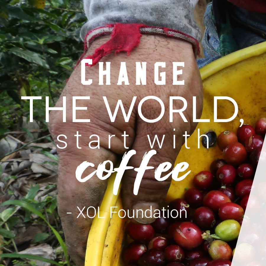 Change the World, Start with Coffee