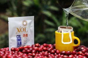 XOL Coffee Single Serve Pour-over Pink Bourbon