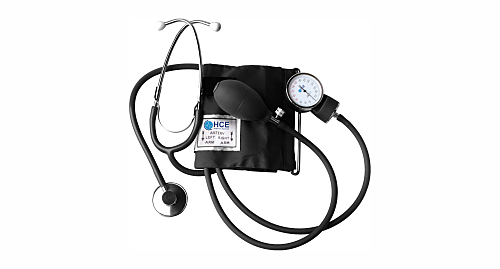 HCE Aneroid Sphygmomanometer with Stethoscope -SP-100