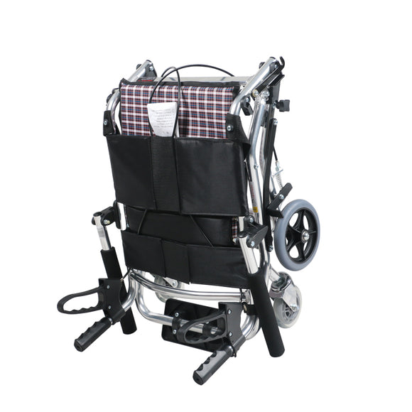Yuwell Transit Wheel Chair-Aluminium -Foldable Compact model with Bag (1100A)