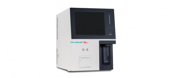 Haematology Analyser with Retic -5 Part Differential