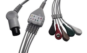 ECG Monitor cable -For  BPL / Indichem / Uniem / Mindray / Criticare / zoll / Physio control
