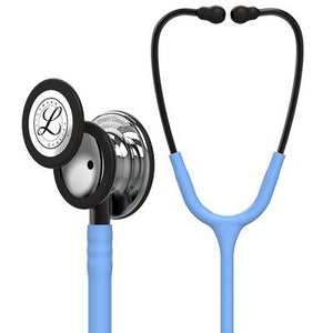 Littmann Classic III Stethoscope: Mirror Chestpiece, Ceil Blue Tube, Smoke Stem and Smoke Headset, 27 inch, 5959