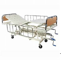 Mechanical ICU Bed (DELUX) SS Railing