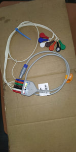 Holter ECG Cable set with 7 leads.