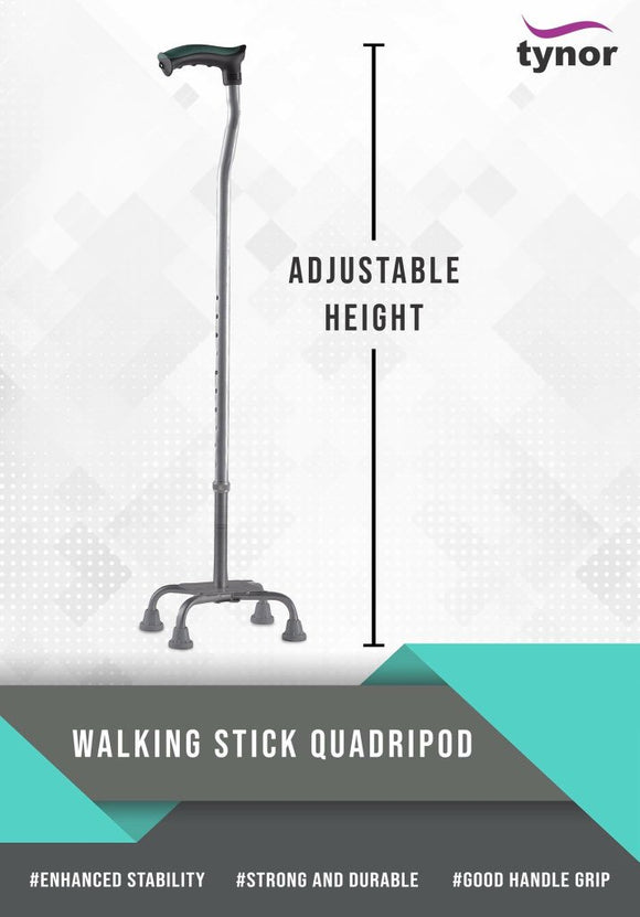 Tynor Quadra Stick (Product Code  L-36)