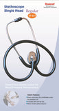 Diamond Single Head Stethoscope Regular ST 017