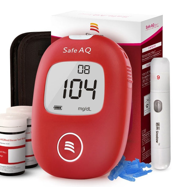 Sinocare Safe AQ Blood Glucose Monitoring System
