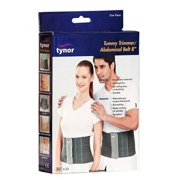 Tynor Tummy Trimmer/Abdominal Belt 8'' (Product Code A-03)