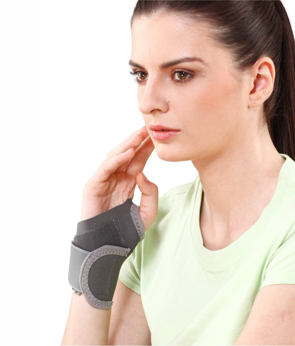 Tynor Wrist Brace With Thumb (Product Code E-06)