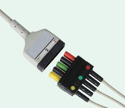 Imported ECG Patient Cable - Detachable leads set for TRIM -1