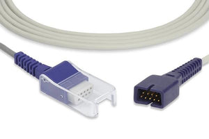 SPO2 Extention Cable - Nellcor DB-7/ DB-9 - Female moulded - 2.2 meter without monitor and connector