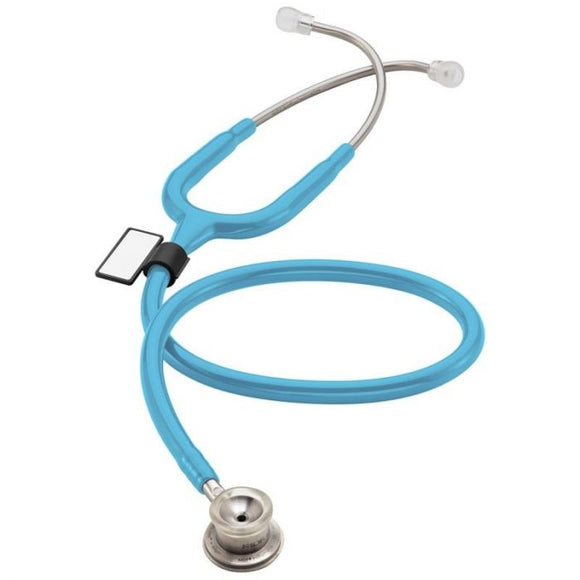 MDF MD One Stainless Steel Premium Dual Head Stethoscope- Infant- Pastel Blue (Blu Babe) (MDF777I03)