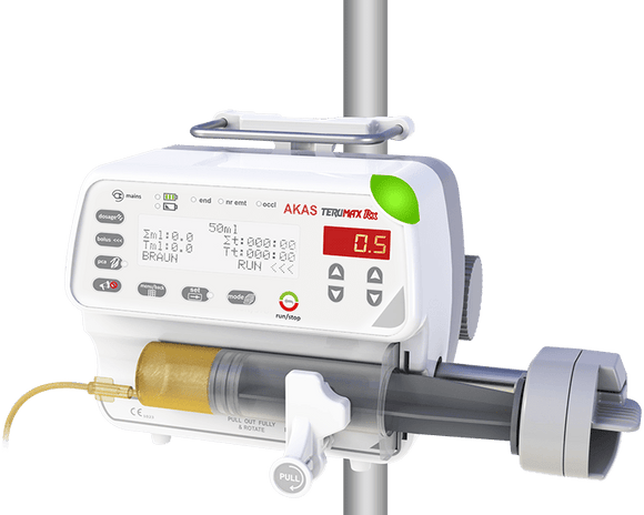 AKAS- Front Loaded Syringe Pump (TERUMAX RX)