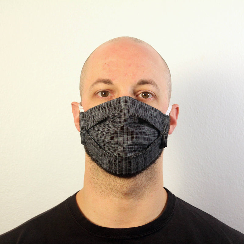 Black Grid Mask