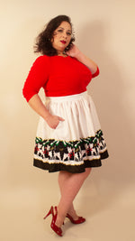 Oh, Hello Deer! Swing Skirt