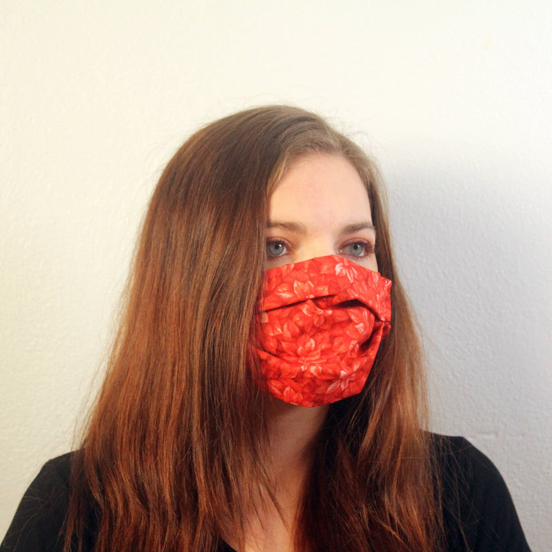 Poinsettia Mask